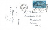 1963 COMPAC, Cable & Wireless C.S. Mercury Cable Ship Postcard, London EC First Day of Issue Slogan