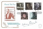 1985 British Film Year, Cotswold Official FDC, British Film Year The David Niven Motor Neurone Disease Association Northampton H/S, Signed by Actor Anthony Quayle