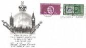 1961 Parliament, BPA & PTS FDC, Post Office Savings Bank 1861 - 1961 Slogan