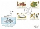 1988, Linnean Society, Historic Relics FDC, First Day of Issue Burlington House London W1 H/S