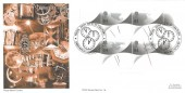 1999 Millennium Timekeeper, Royal Navy Group Official FDC, From 20th to 21st Century Greenwich London H/S