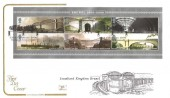 2006, Isambard Kingdom Brunel Miniature Sheet, Cotswold Official FDC, Isambard Brunel Saltash Cornwall H/S