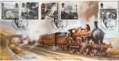 1994 Age of Steam Bradbury LFDC 120 signed by David Weston
