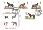 1978, Shire Horse Society, Historic Relics FDC, Shetland Pony Stud Book Society Haroldswick Unst Shetland H/S