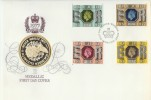 1977 Silver Jubilee Birmingham Mint Sterling Silver Medal FDC, First Day of Issue Windsor Berks. H/S