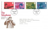 1976 Telephone, Post Office FDC, Hull N. Hside FDI