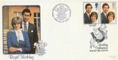 1981 Royal Wedding Bradbury LFDC 11 Official FDC
