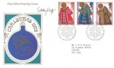 1972 Christmas, Post Office FDC, Philatelic Bureau H/S, Signed by the Stamp Designer Sally Stiff