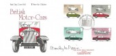 1982  British Motor Cars, Save the Children Fund FDC, First Day of Issue Crewe H/S, Signed by the Stamp Designer Stanley M Paine