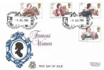 1980  Famous People, Peter Scot FDC, William Shakespeare Stratford Upon Avon Warwickshire H/S