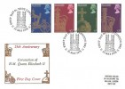 1978 25th Anniversary of the Coronation, Historic Relics FDC, First Day of Issue London SW1 H/S