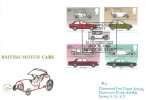1982 British Motor Cars, Philcovers FDC, 60th Anniversary Austin 7 Brooklands Weybridge Surrey H/S