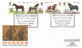 1978 Shire Horse Society, Post Office FDC, Horses on Stamps Exhibition Havering Park Riding School Havering-atte-Bower Romford Essex H/S