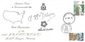 1976 American Bicentenary, RAF Bruggen FDC, Double dated, Forces Post Office CDS, Signed