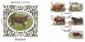 1984 British Cattle, Benham Hereford FDC, Hereford FDI