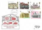 1975 Architecture, Historic Relics FDC, London W1 FDI