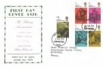 1970 Literary Anniversaries, Display FDC, Chelmsford Essex FDI