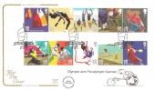 2011 Olympics, Cotswold Official FDC, London Olympic & Paralympic Games London H/S