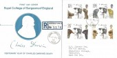 1982 Charles Darwin, Registered Stewart Petty FDC, Downe Orpington Kent cds