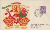 1958 3d Jersey Regional, Illustrated FDC, Jersey Channel Islands cds