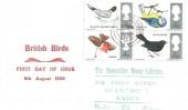 1966 British Birds, Display FDC, Brentwood Essex cds