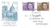 1973 Royal Wedding, Philart London 1829 Post Office & St. Paul's Cathedral FDC, Liverpool FDI