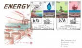 1978 Energy, Stuart FDC, KW Claymore 'A' Project Team Peterhead H/S