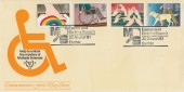 1981 Year of the Disabled, Exeter Multiple Sclerosis Official FDC, Exeter and District Branch Exeter H/S