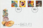 1995 Science Fiction Blick Time Systems Swindon Official FDC, 70 Years in Time Recording Swindon H/S