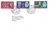 1962 National Productivity, Plain FDC, House of Lords SW1 cds