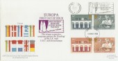 1984 Europa FDC Milk on your Door Step a Great British Tradition Slogan RARE