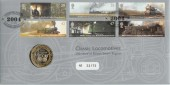 2004 Classic Locomotives Royal Mint Official £2 Coin FDC