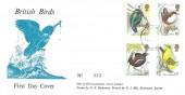 1980 British Birds, D P Hathaway FDC, Purple Haslemere Surrey cds