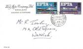 1967 European Free Trade Area (EFTA), Ford Motor Company Ltd FDC, Warwick & Leamington Spa cds