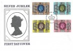1977 Silver Jubilee, Historic Relics FDC, First Day of Issue Windsor H/S