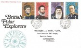 1972 Polar Explorers, Post Office FDC, Pembroke Dock cds