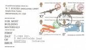 1974 Universal Postal Union, W T Burden (Midlands) Ltd FDC, Birmingham FDI