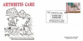 1981 Disabled, Arthritis Care Arlington Official FDC, 22p Stamp only, Arthritis Care International Year of Disabled People London SW1 H/S