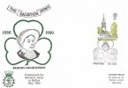 1980 London Landmarks, Historic Relics Salvation Army in Belfast FDC, 12p Albert Memorial Stamp Only, The Salvation Army Belfast H/S