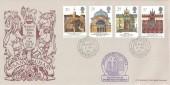 1990 Europa, Bradbury Britain's Oldest Post Office FDC, Sanquhar Dumfriesshire cds