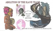 2007 Abolition of Slavery, B.J.P. Riff FDC, 1st Class Olaudah Equiano Stamp only, Am I not a Man and a Brother First Day of Issue Hull H/S
