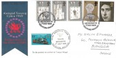 1969 Prince of Wales Investiture, GPO FDC, Talyllyn Railway Tywyn Merioneth H/S, 1/2d Railway Letter Stamp