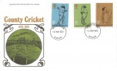 1973 County Cricket Centenary, Post Office FDC Durham FDI, Durham County Cricket Club