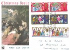 1969 Christmas, Wessex FDC, Southall Middx.cds