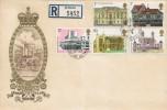 1975 Architecture, Registered Philart Windsor Castle FDC, Windsor Castle Windsor Berks. cds