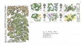 1967  Wild Flowers, GPO FDC, Ashford Common Middx.cds
