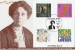 1999 Citizens' Tale GBCovers  Emily Pankhurst Official FDC