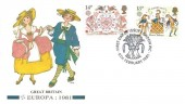 1981 Folklore, Fleetwood FDC, 14p & 18p Stamps Only, First Day of Issue London WC H/S