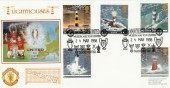 1998 Lighthouses Dawn Manchester United Official FDC