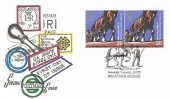 1999 Farmers' Tale Special Retail Booklet No.2, Special Postmark FDC, Stoneleigh Coventry Millennium Booklet H/S